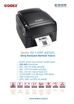 Godex EZ-1105P (EZ320)