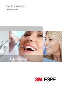 3M ESPE Dental Ürünler Kataloğu 2011/2012