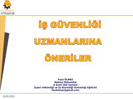 14.05.2015 www.ankaraisguvenligi.com