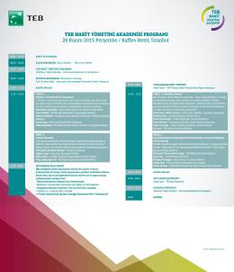 program - TEB Nakit Yönetimi Akademisi