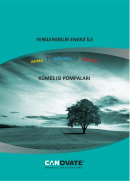 Katalogu İndir - Canovate Enerji Sistemleri