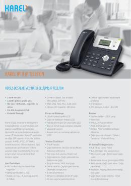 IP111 IP Telefon Broşürü