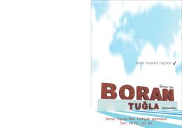 boran katalog baskı 2 - Boran Tuğla Toprak İzotuğla Afyonkarahisar
