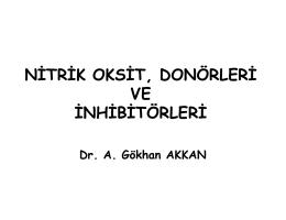 NITRIK OKSIT, DON  RLERI