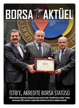 Ocak - Şubat 2015 - İstanbul Ticaret Borsası