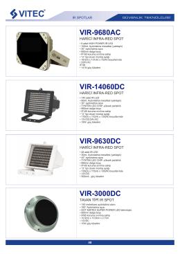 VIR-14060DC - Bilgi Elektronik