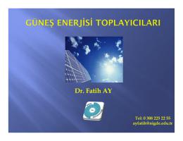 Ders 5 - Yrd.Doç.Dr.Fatih AY