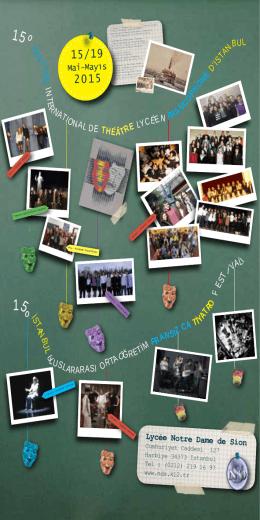 15 º İs 15º - Notre Dame de Sion Fransız Lisesi