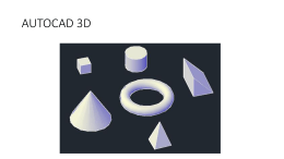 AutoCAD 3D modelleme (İndirme : 6)