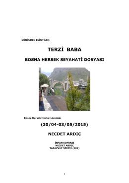 terzi baba (30/04-03/05/2015)