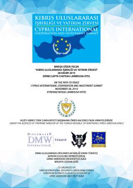 kıbrıs uluslararası - european business club