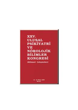 XXV. Ulusal Psikiyatri ve Nörolojik Bilimler Kongresi