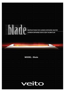 Veito Blade Ürün Klavuzu