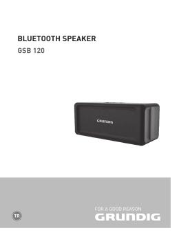 bluetooth speaker gsb 120