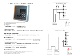 LOREX LR-DL3 Kullanım Kılavuzu