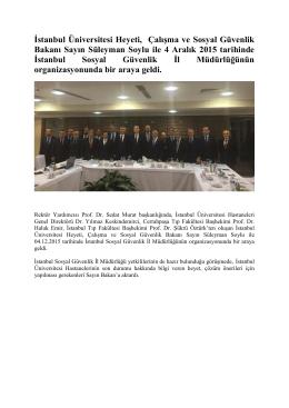 SGK Toplantı Notları