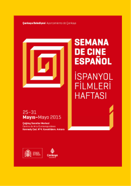 Ispanyol Filmleri Haftasi Program