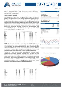 SAHOL, Sektörlerdeki Güçlü Pozisyonuyla %36 Yükseliş Potansiyeli