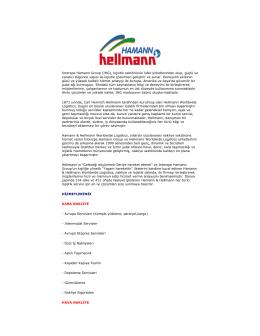 Interspe Hamann Group (IHG), lojistik sektörünün