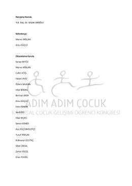 Kurullar - Kırıkkale Üniversitesi