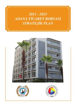 2011-2015 - Adana Ticaret Borsası