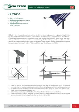 FS Track-2 - Schletter GmbH