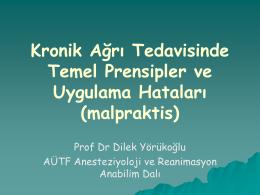 Prof Dr Dilek Yörükoğlu