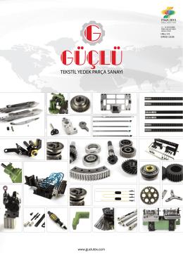 Katalog 2015 - Güçlü Tekstil Makine Yedek Parçaları