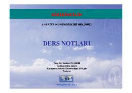 1 - Gislab - Karadeniz Teknik Üniversitesi