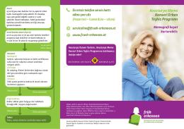 Avusturya Meme Kanseri Erken Teşhis Programı Mamografi hayat