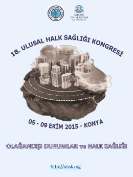 18. ulusal halk sağlığı kongresi, ikinci duyurusu