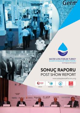 SONUÇ RAPORU - II. Su Kayıp ve Kaçakları Türkiye Forumu