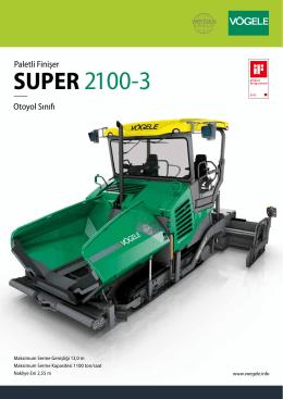SUPER 2100-3