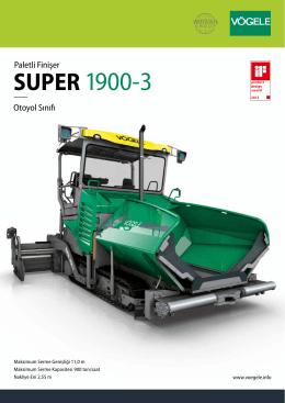 SUPER 1900-3