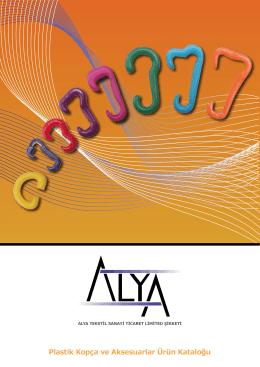 Plastik Kopça - Alya Tekstil San. ve Tic. Ltd. Şti.