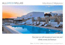Villa Kore 2 Mykonos