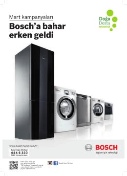 Bosch`a bahar erken geldi