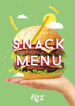 Snack Menü - Leka Hotels