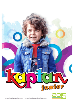 catalogue - kaptan junior logo
