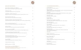 hilton globe menu 1 aralık alacarte