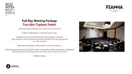 etkinlik kiti - Gezi Hotel Bosphorus