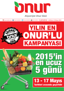 Adet - Onur Market