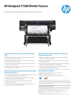 HP DesignJet T7200 Üretim Yazıcısı