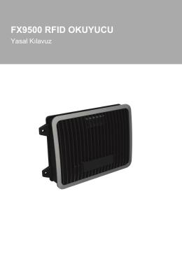 fx9500 rfıd okuyucu - Motorola Solutions