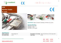 EKG Monitor Kablo & Lead - medi