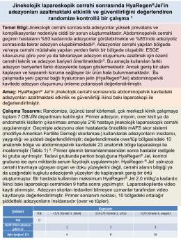 Yayın Özeti - Bilar Medikal