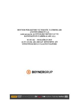 BOYP Faaliyet Raporu 30062015