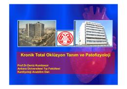 Kronik Total Oklüzyon Tanım ve Patofizyoloji