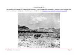 SuçatıHABER –www.sucati.com Sayfa 1 20. yüzyılın başında TELİN
