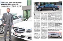 Corporent, premium otomobil kiralama sektörünün lider markası